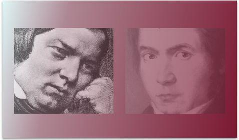 Ludwig van Beethoven e Robert Schumann